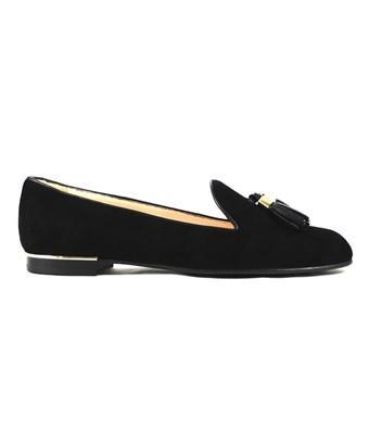 Roberto Festa Women's  Black Leather Loafers
