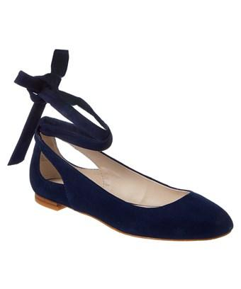 Kenneth Cole New York Wilhemina Suede Flat In Nocolor