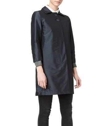 Herno Women's  Blue Polyester Coat