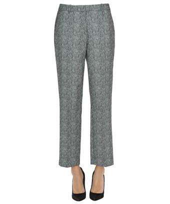 Pinko Women's  Grey Cotton Pants