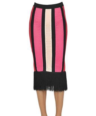 Pinko Women's  Multicolor Polyamide Skirt In Multiple Colors