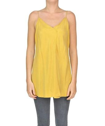 Twinset Twin-set Women's  Yellow Polyester Top