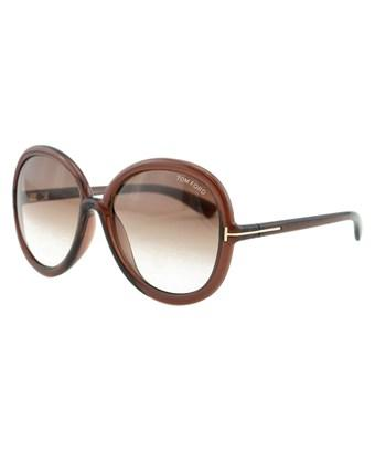 Tom Ford Women's Candice 59mm Sunglasses In Nocolor