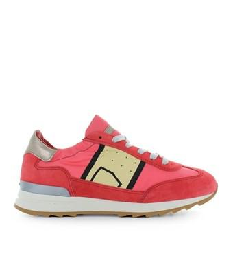 Philippe Model Women's  Red Leather Sneakers