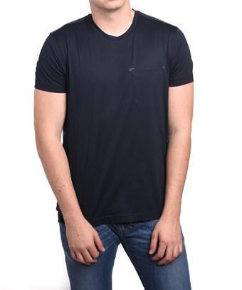 Zegna Sport Ermenegildo  Men's Pocket T-shirt In Black