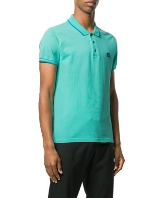 Kenzo Men's  Green Cotton Polo Shirt