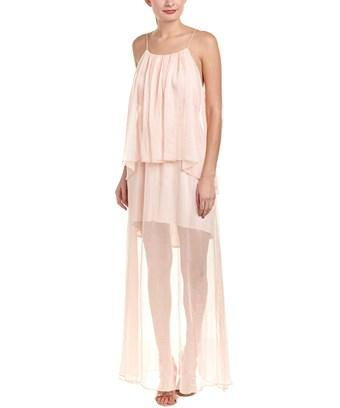 The Jetset Diaries Lanza Maxi Dress In Pink