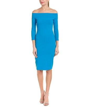 Susana Monaco Tina Shift Dress In Blue