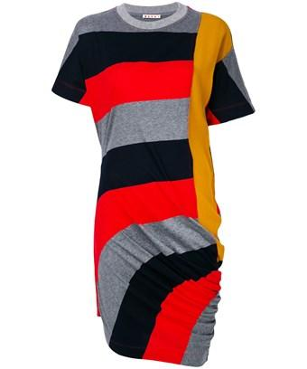 Marni Women's  Multicolor Cotton Dress In Multiple Colors