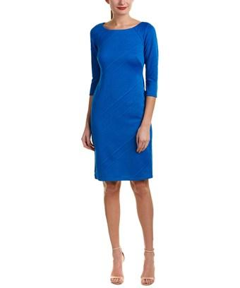 Taylor Sheath Dress In Blue