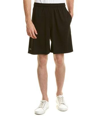 Lacoste Sport Super Dry Drawstring Short In Black