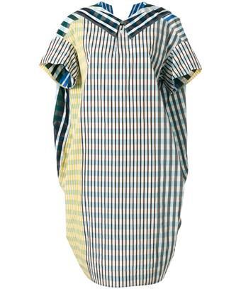 Marni Women's  Light Blue Viscose Dress