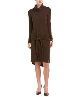 Cullen Cashmere Sweaterdress In Brown
