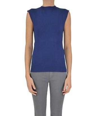 Twinset Twin-set Women's  Blue Viscose Top