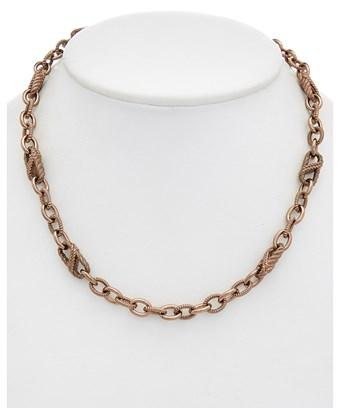 Judith Ripka 14k Gold Clad Necklace In Nocolor