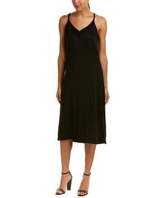 Michael Stars Day To Night Slip Dress In Black