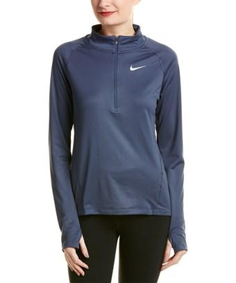 Nike Core Half-zip Pullover In Grey