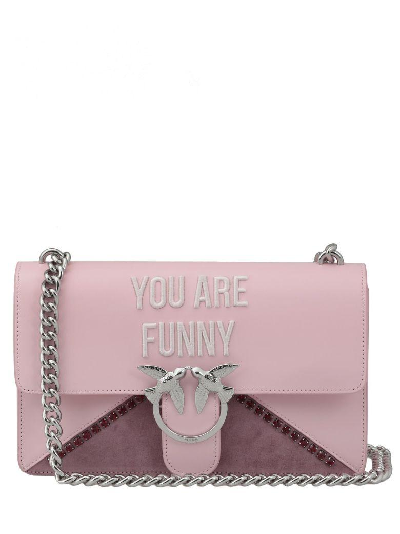 Pinko Love Funny Bag In Pink
