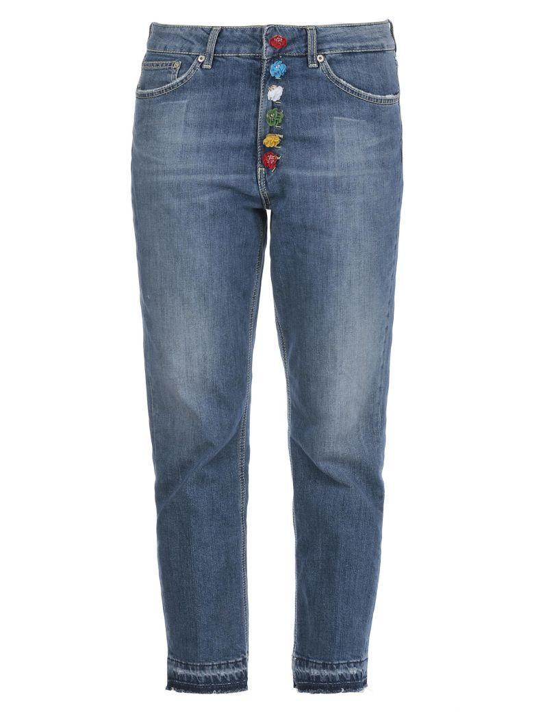 Dondup Cropped Jeans In Blue