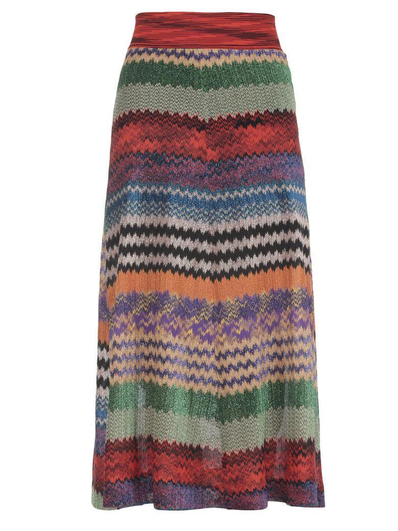 Missoni Lurex Skirt In Multicolor