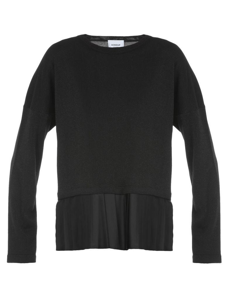 Dondup Lurex Sweater In Black