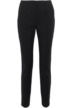 Jason Wu Woman Cotton-blend Canvas Slim-leg Pants Black