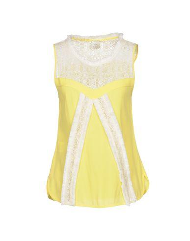 Pinko Tops In Yellow