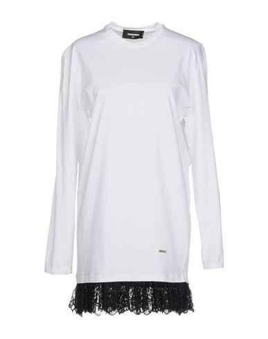 Dsquared2 Short Dress In Ivory