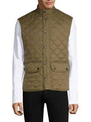 Barbour Lowerdale Quilted Vest In Clay