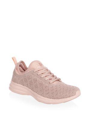 Apl Athletic Propulsion Labs Low-top Sneakers In Rose
