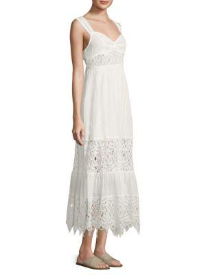 Free People Caught Your Eye Maxi Dress In White