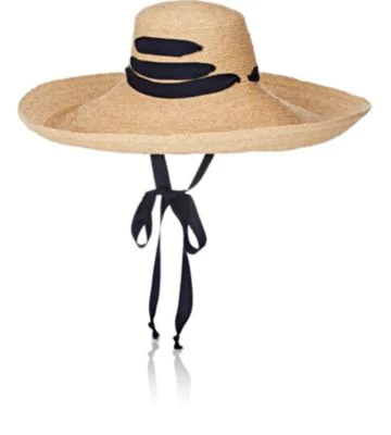 8c980ff5 Lola Hats Espartina Raffia Sun Hat W/ Hat Band In Neutral | ModeSens