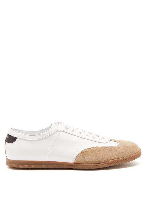 Paul Smith - Holzer Low Top Leather Trainers - Mens - White
