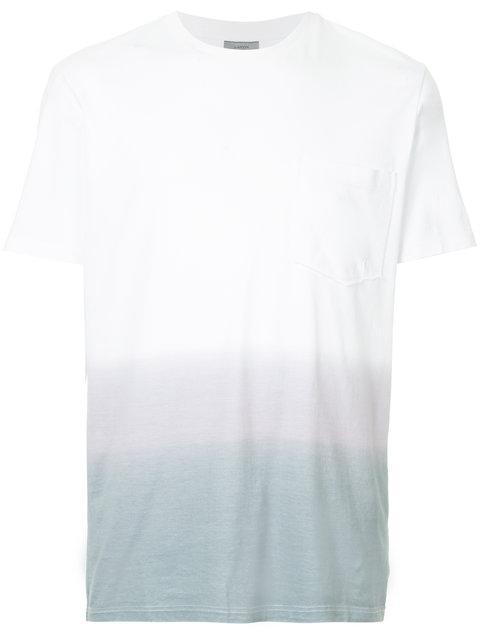 Lanvin Gradient Pocket T In White