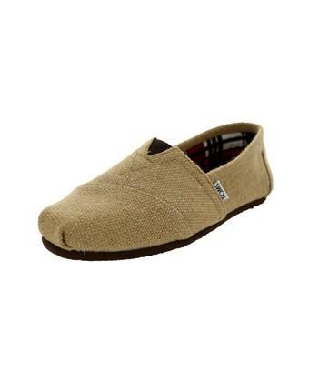 Toms Men's Classics Burlap Casual Shoe In Natural Burlap