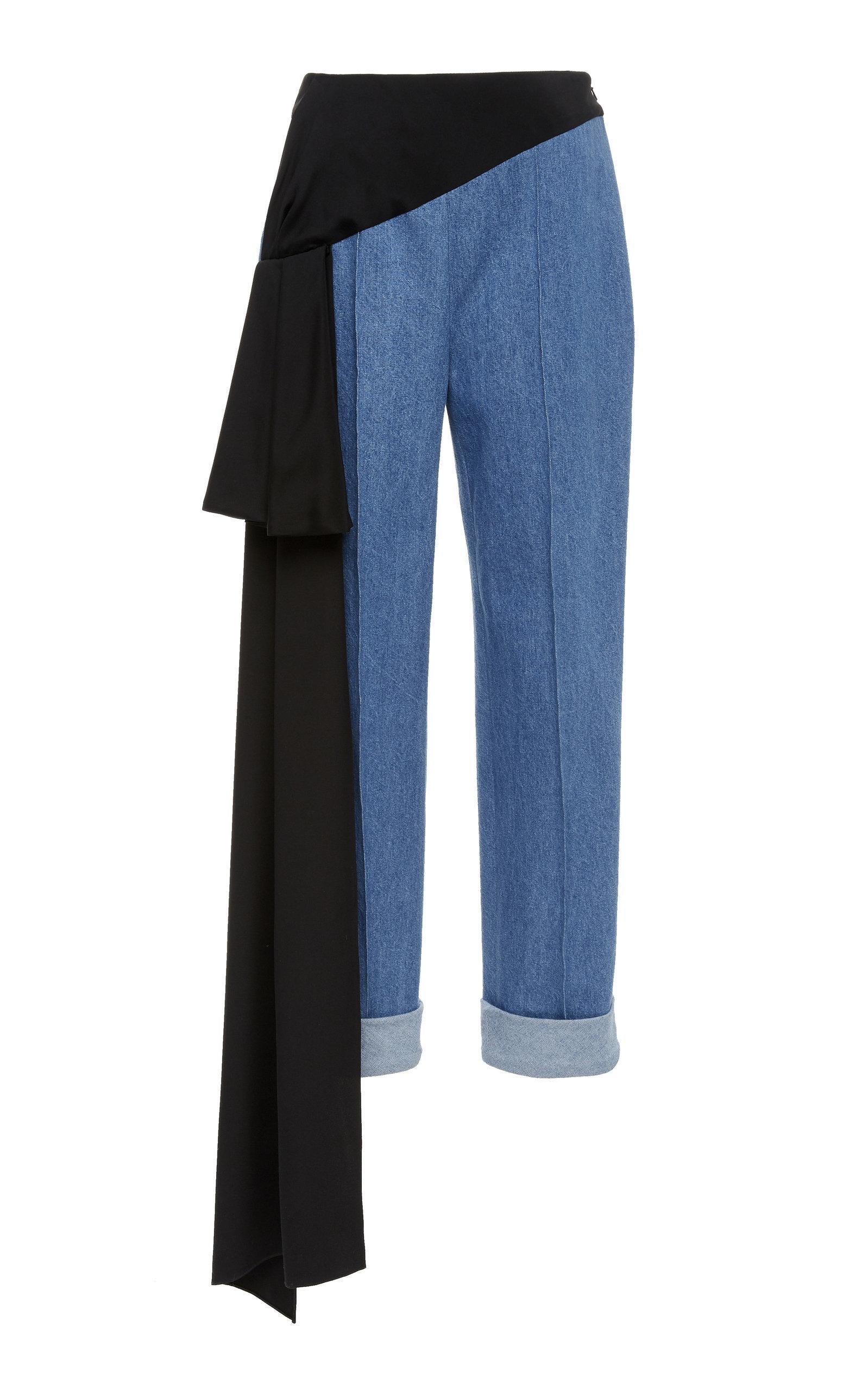 Hellessy Romeo Cigarette Pants In Blue