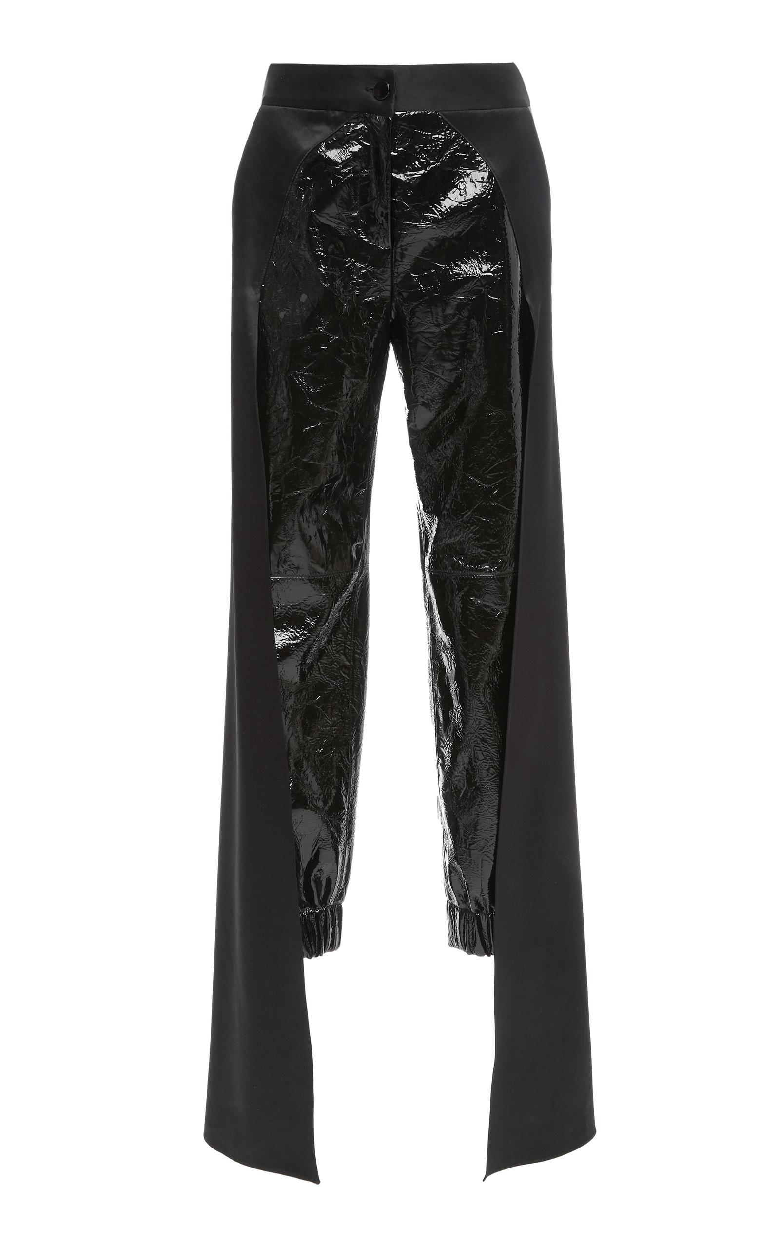 Hellessy Jagger Lambskin Pant In Black