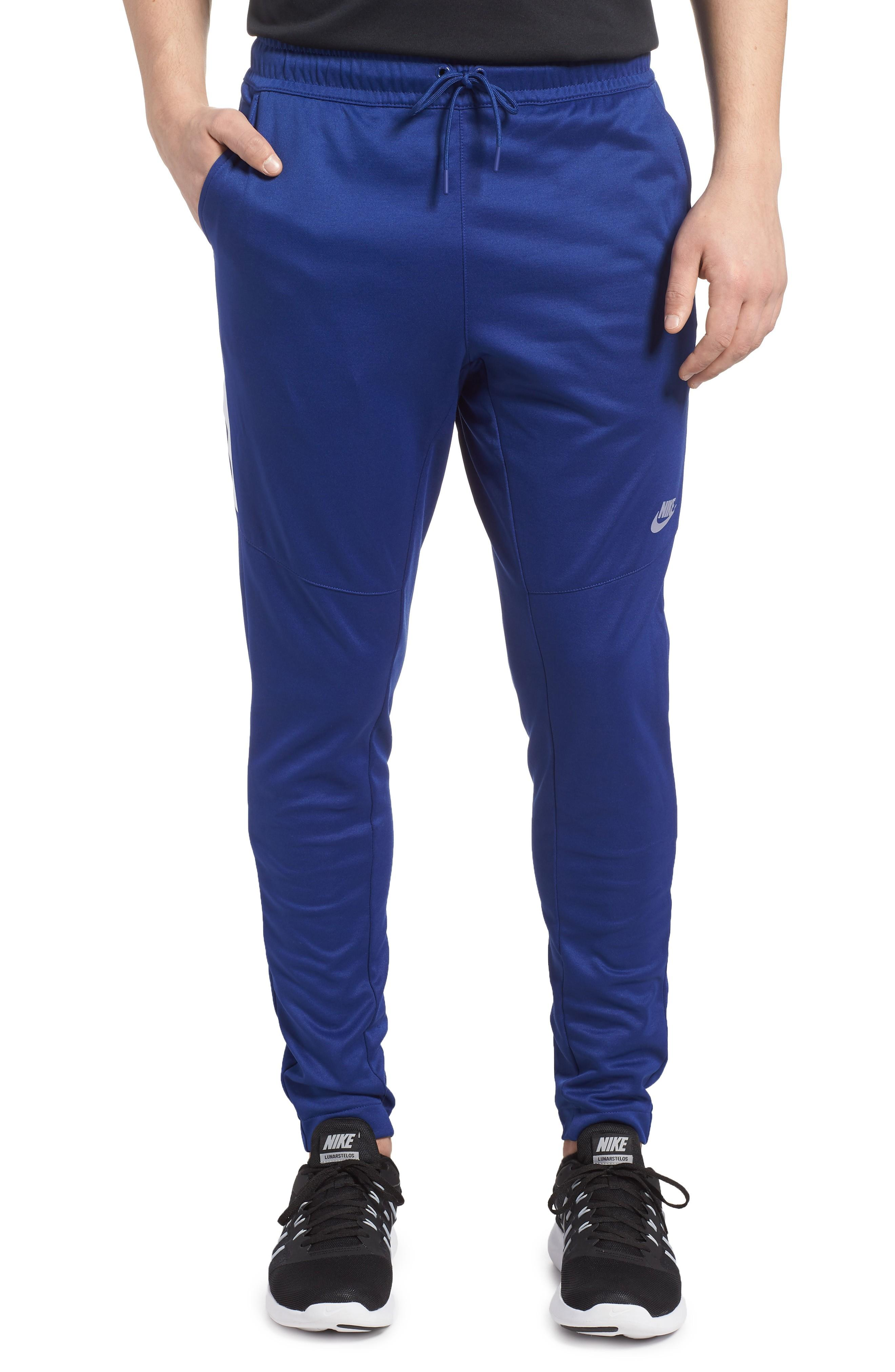 Nike Nsw Tribute Jogger Pants In Deep Royal Blue/ White/ White