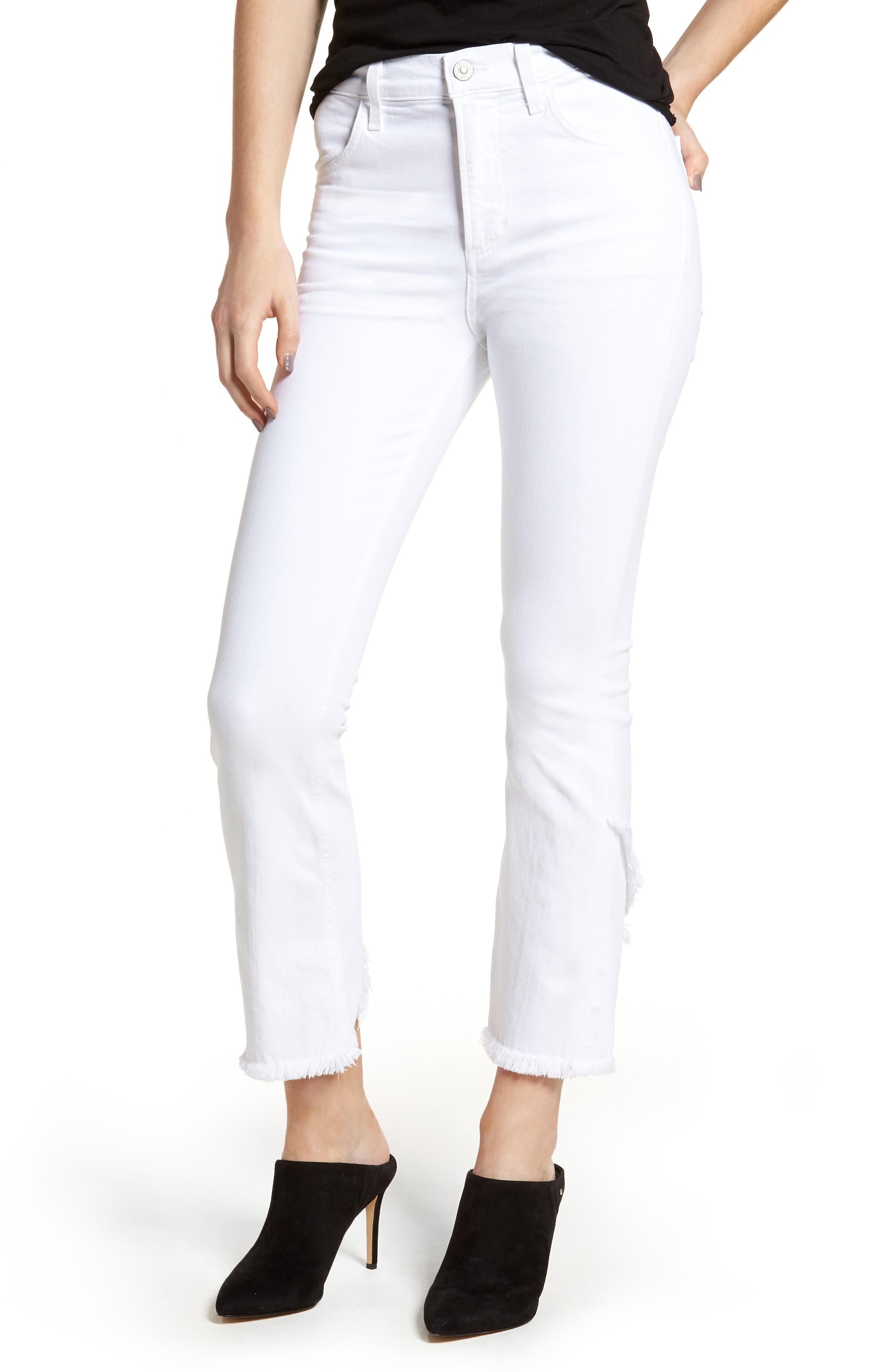 Citizens Of Humanity Drew Flare Jeans In Optic White