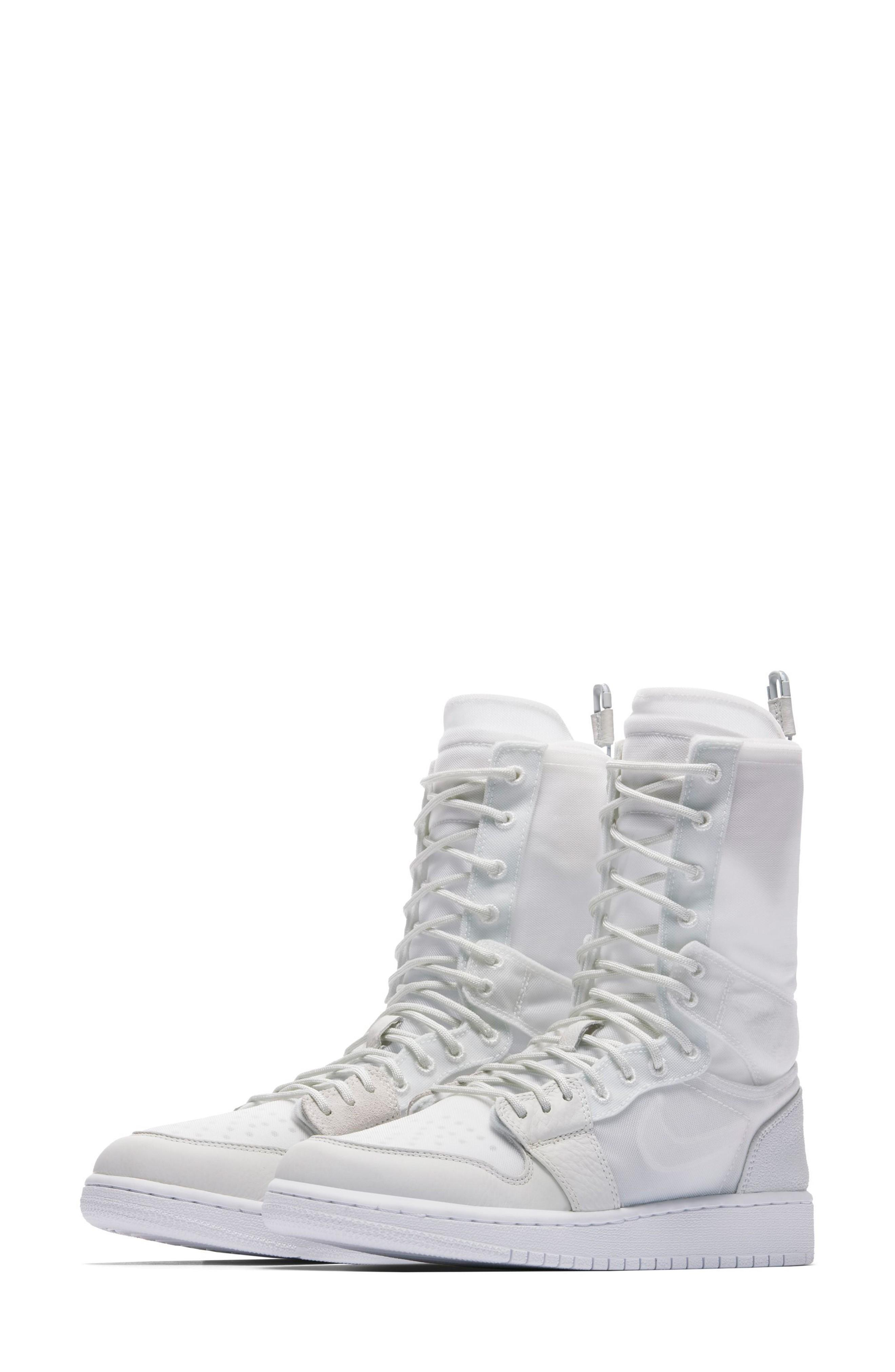 best service d52cf 3aaa0 Nike Air Jordan 1 Explorer Xx Convertible High Top Sneaker In Off White   Off White