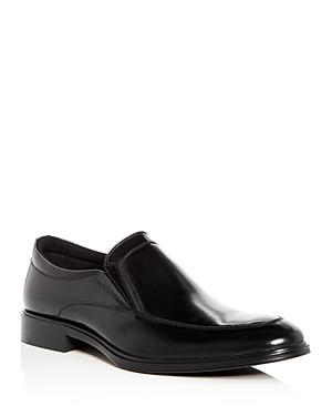 Kenneth Cole Men's Tully Leather Apron Toe Loafers In Black