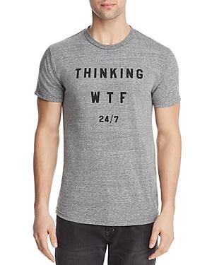 Altru Thinking 24/7 Crewneck Tee In Heather Gray