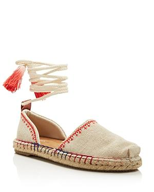 Toms Women's Kataln Ankle Wrap Espadrille Flats - 100% Exclusive In Natural