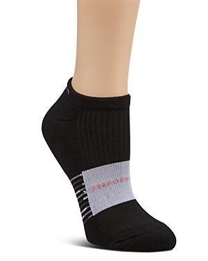 Calvin Klein Blocked Stripe Performance Socks In Black