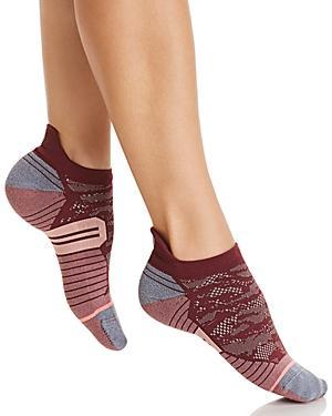 Stance Heel Tab Ankle Socks In Purple