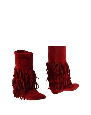 Casadei Boots In Red