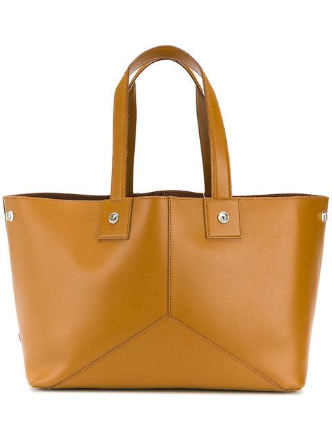Golden Goose Golden Reversible Leather Shopping Color Leather In Tan
