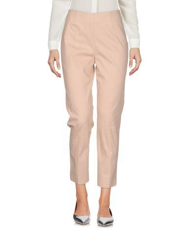True Royal Cropped Pants & Culottes In Pale Pink