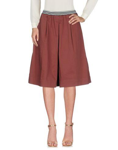 Department 5 Knee Length Skirt In Cocoa