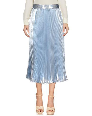 Space Style Concept 3/4 Length Skirt In Sky Blue